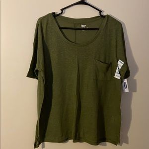 NEW: Large Boyfriend Tee - Into The Woods Old Navy